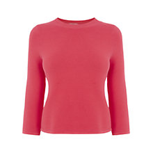 Buy Oasis Compact Cropped Knit Top Online at johnlewis.com