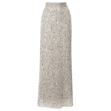 Buy Coast Evie Sequin Skirt, Grey Online at johnlewis.com