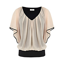 Buy Coast Tipped Victoria Top, Blush Online at johnlewis.com