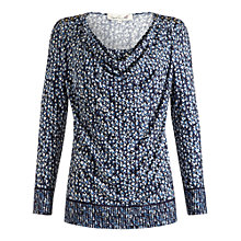Buy Damsel in a dress Storm Print Top, Blue Print Online at johnlewis.com