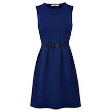 Buy Oasis Daisy Jacquard Dress, Navy Online at johnlewis.com