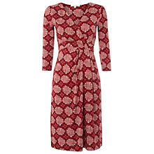 Buy White Stuff Fern Tree Dress, Roebuck Red Online at johnlewis.com