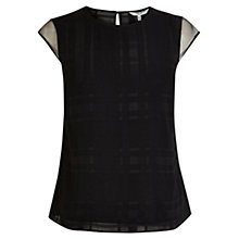 Buy Coast Eden Top, Black Online at johnlewis.com