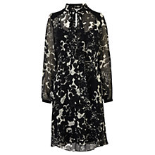 Buy Coast Mono Adlina Shirt Dress, Black/White Online at johnlewis.com