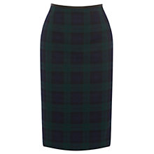 Buy Oasis Check Skirt, Navy Online at johnlewis.com