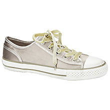 Buy Ash Viper Satin Trainers, Grey Online at johnlewis.com