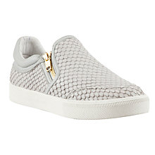 Buy Ash Intense Leather Trainers, Natural Online at johnlewis.com