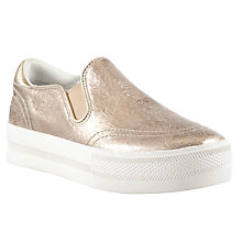 Buy Ash Jungle Leather Trainers, Gold Online at johnlewis.com