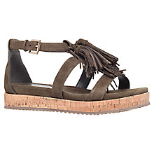 Buy KG by Kurt Geiger Meadow Fringed Sandals Online at johnlewis.com