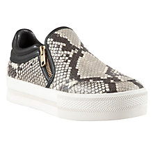 Buy Ash Jordy Slip On Leather Trainers, Print Online at johnlewis.com