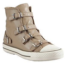 Buy Ash Virgin Leather Trainers, Taupe Online at johnlewis.com
