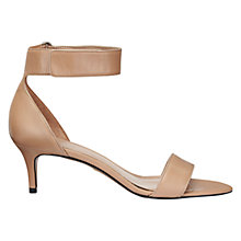 Buy Whistles Cadia Leather Sandals, Nude Online at johnlewis.com