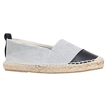 Buy KG by Kurt Geiger Maidson Espadrilles, Denim Online at johnlewis.com