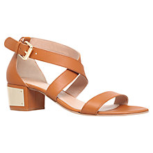 Buy KG by Kurt Geiger Margot Leather Sandals Online at johnlewis.com