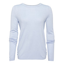 Buy Whistles Annie Sparkle Jumper, Pale Blue Online at johnlewis.com