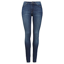 Buy Whistles Skinny Jeans, Dark Denim Online at johnlewis.com