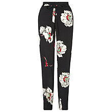 Buy Ghost Floral Print Trousers, Multi Online at johnlewis.com