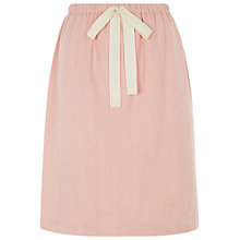 Buy People Tree Daphne Drawstring Skirt, Pink Online at johnlewis.com