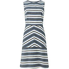 Buy People Tree Paloma Panel Dress, Blue Online at johnlewis.com