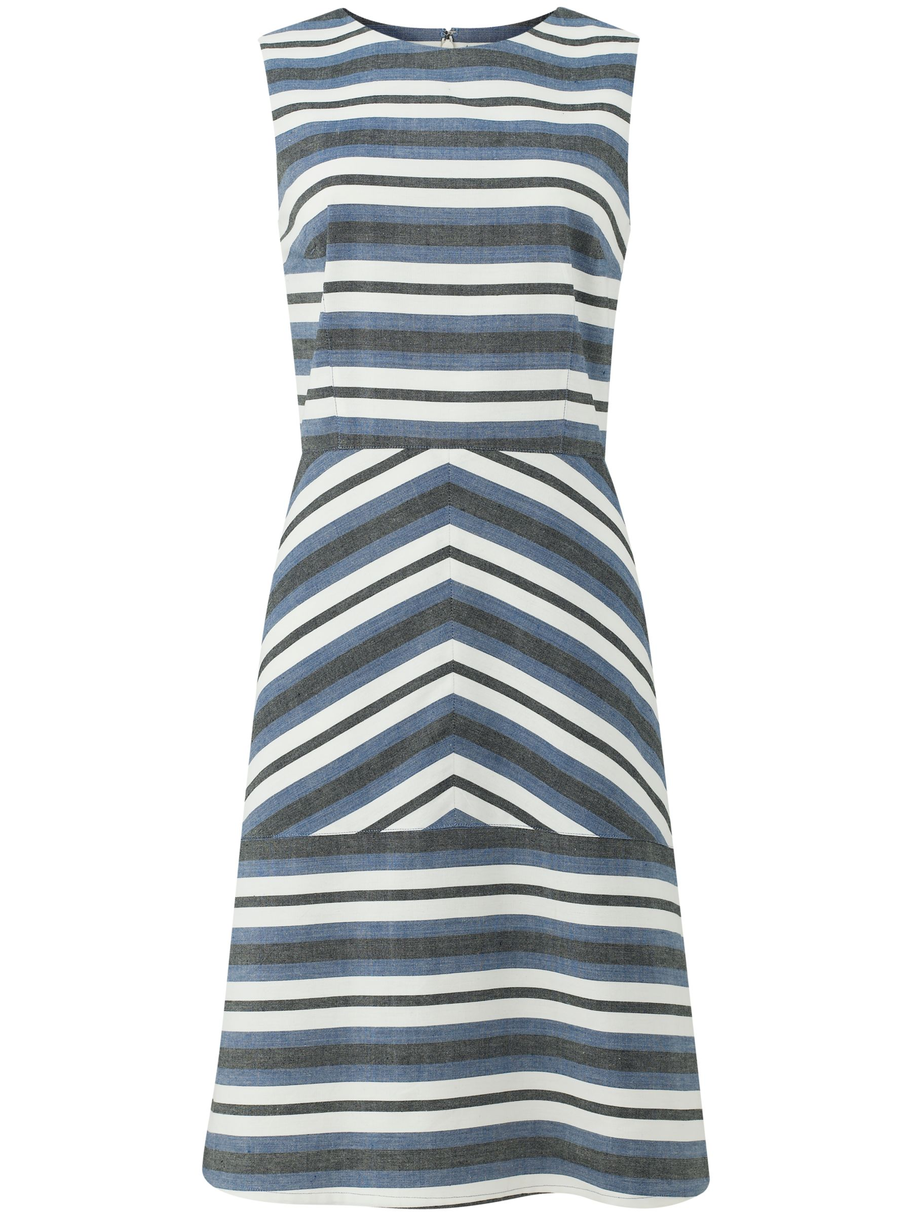 people tree paloma panel dress blue, people, tree, paloma, panel, dress, blue, people tree, 8|14|12|10, women, womens dresses, 1911371