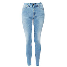 Buy Selected Femme Bea Skinny Fit Jeans, Light Blue Denim Online at johnlewis.com