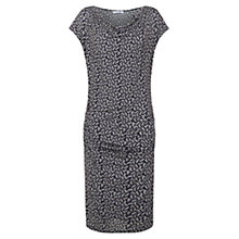 Buy Nicole Farhi Flash Print Jersey Dress, Ink Online at johnlewis.com