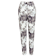 Buy Selected Femme Printed Trousers, Ashes Of Roses Online at johnlewis.com