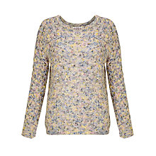 Buy Selected Femme Knit Jumper, Multi Online at johnlewis.com