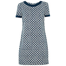 Buy People Tree Esther Tile Dress, Navy Online at johnlewis.com