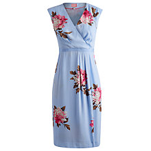 Buy Joules Helena Dress, Sky Blue Peony Online at johnlewis.com