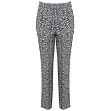 Buy Miss Selfridge Paisley Print Jacquard Trousers, Multi Online at johnlewis.com