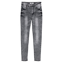 Buy Mango Skinny Noa Jeans, Grey Online at johnlewis.com