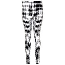 Buy Miss Selfridge Basket Weave Tube Trousers, Black Online at johnlewis.com