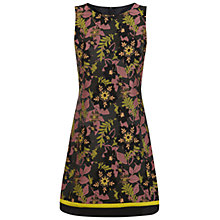 Buy Miss Selfridge Banded Jacquard Shift Dress, Multi Online at johnlewis.com