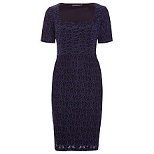 Buy Sugarhill Boutique Jemima Dress, Navy / Black Online at johnlewis.com
