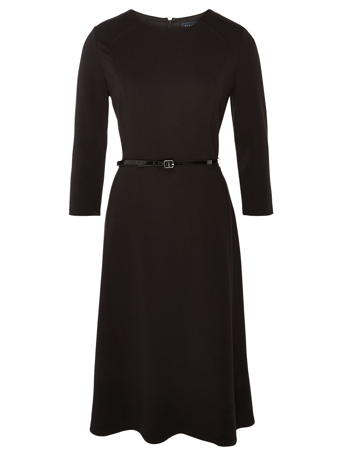 viyella ponte dress black, viyella, ponte, dress, black, 8 12 14, women, womens dresses, special offers, womenswear offers, latest reductions, womens dresses offers, up to 30% off selected viyella, 1797290