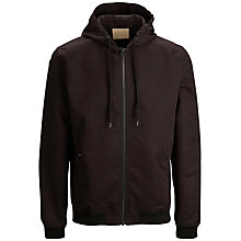 Buy Selected Homme Shjacob Hooded Jacket, Black Online at johnlewis.com