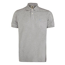 Buy Pretty Green Albion Polo Shirt, Light Grey Marl Online at johnlewis.com