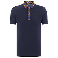Buy Pretty Green Exclusive Paisley Trim Polo Shirt Online at johnlewis.com