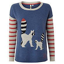 Buy White Stuff Raccoon Jumper, Bluebell Online at johnlewis.com