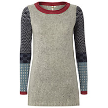Buy White Stuff Wild Fauna Jumper, Grey Online at johnlewis.com