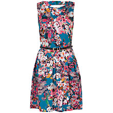 Buy Almari Floral Cut Out Back Dress, Multi Online at johnlewis.com