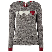 Buy White Stuff Delilah Jumper, Grey Salt Online at johnlewis.com