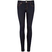 Buy Ted Baker Super Skinny Rinse Wash Jeans, Dark Blue Online at johnlewis.com