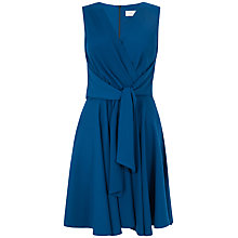 Buy Almari Cross Over Tie Front Dress, Petrol Online at johnlewis.com