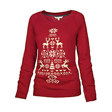 Buy Fat Face Orkney Christmas Tree Jumper Online at johnlewis.com