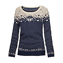 Buy Fat Face Orkney Snowflake Jumper Online at johnlewis.com