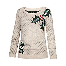 Buy Fat Face Orkney Holly Jumper Online at johnlewis.com
