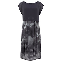 Buy Mint Velvet Sylvie Print Tie Dye Dress, Multi Online at johnlewis.com