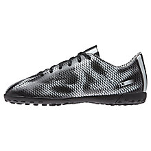 Buy Adidas F10 TRX TF Football Boots, Black/Silver Online at johnlewis.com